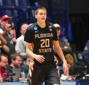 Travis Light in basketball uniform