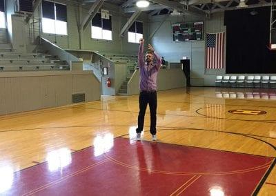 Gym where Hoosiers was filmed