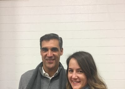 Josie and Coach Jay Wright