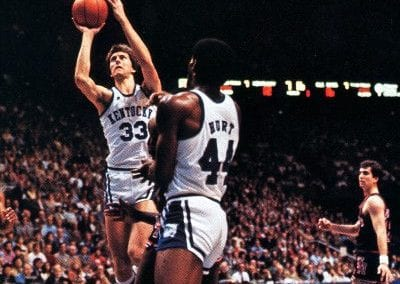 Tom Heitz in action for UK